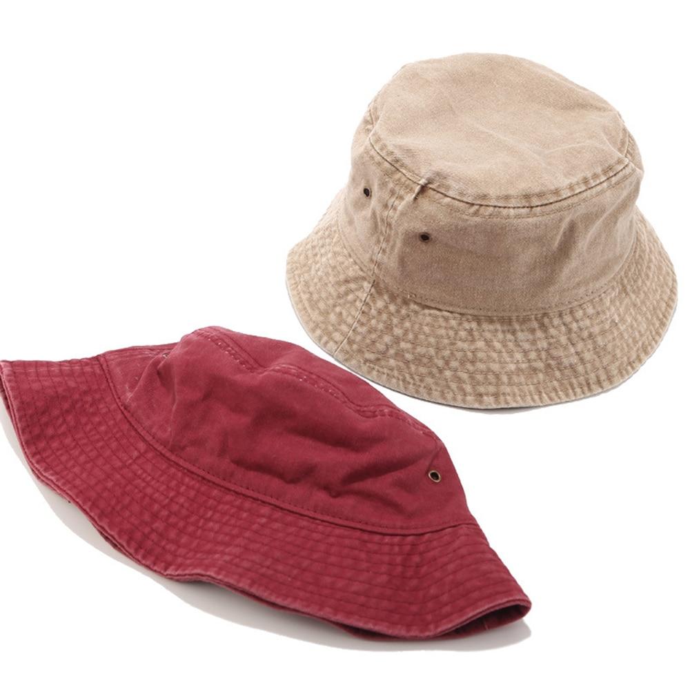 345.57руб. 29% СКИДКА|Новая потертая хлопковая черная Мужская шляпа Панама Летняя джинсовая шляпа УФ Защита от солнца Пешие прогулки Рыбалка шляпа для женщин|  - AliExpress