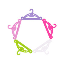 5 color hangers American doll accessories for 18-inch dolls and 43 cm reborn dolls Generation, children's Christmas gifts