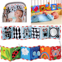 Babys Room Decor Crib Cloth Bumper Multi-Touch Double Protector Bebe Books Bed Bumper Cot Fence soothe Towel Newborn Bedding Set
