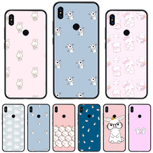 Cartoon animal rabbit pink Newly Arrived Black Cell Phone Case For xiaomi Redmi 5 5A plus 7A 8 note 2 3 4 5 5A 6 7 GO K20 A2(China)