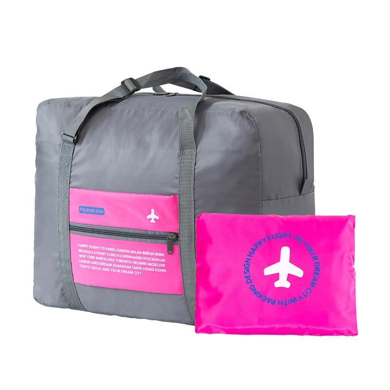 New polyester fabric waterproof bag large capacity double beach bag portable sandbag packaging cube weekend package