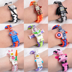 Toy Story 4 Buzz Lightyear Bracelet Building Blocks Toys Action Figures legoinglys AvengersINGLY joker Iron Batman Children gift