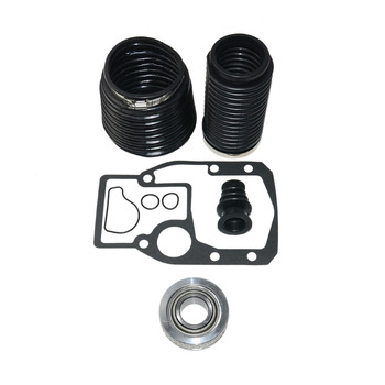 Black Replacement Clamp Practical With Gasket Transom Accessories Bellows Repair Kit Gimbal Bearing For OMC 1986-1993 911826