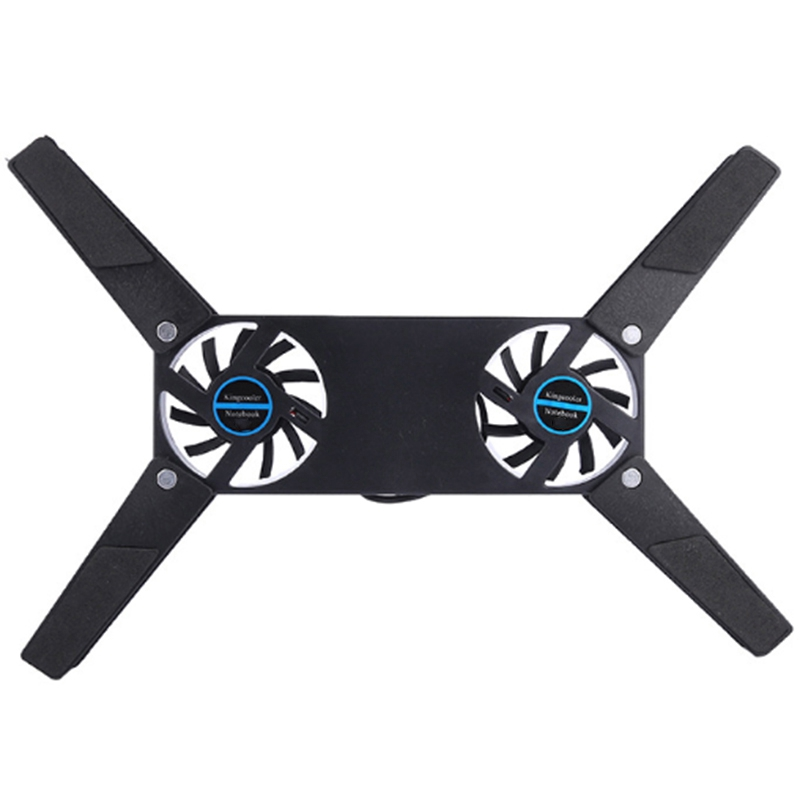 Rotatable USB Fan Cooling Pad Notebook Cooler Computer USB Fan Stand for 8-14 PC Laptop PC Computer Peripherals