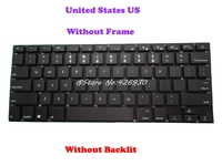 New Black Keyboard For ENZ C16S C16B United States US With Backlit /NO Frame NO Backlit