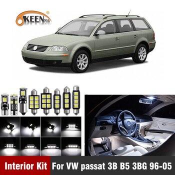 цена на 13pcs Canbus Car LED Bulbs For Volkswagen VW Passat 3B B5 3BG 1996-2005 Led Interior Light Kit Dome Map Light Car Accessories