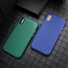 Genuine Real Leather Case For Iphone 7 8 Plus X Xs Xr Max Cover With Retail Package