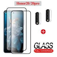 2 шт переднее закаленное стекло для huawei honor 20 pro  защиты