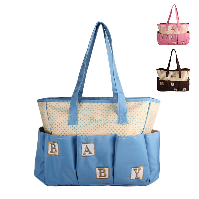 New Products Hot Selling Multi-functional Fashion Diaper Bag Hand Oblique Shoulder Bag Mommy Bag Maternal And Child Supplies