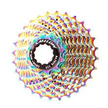 Smllow mtb красочные кассета 11 Скорость 12 13 14 15 17 19 21