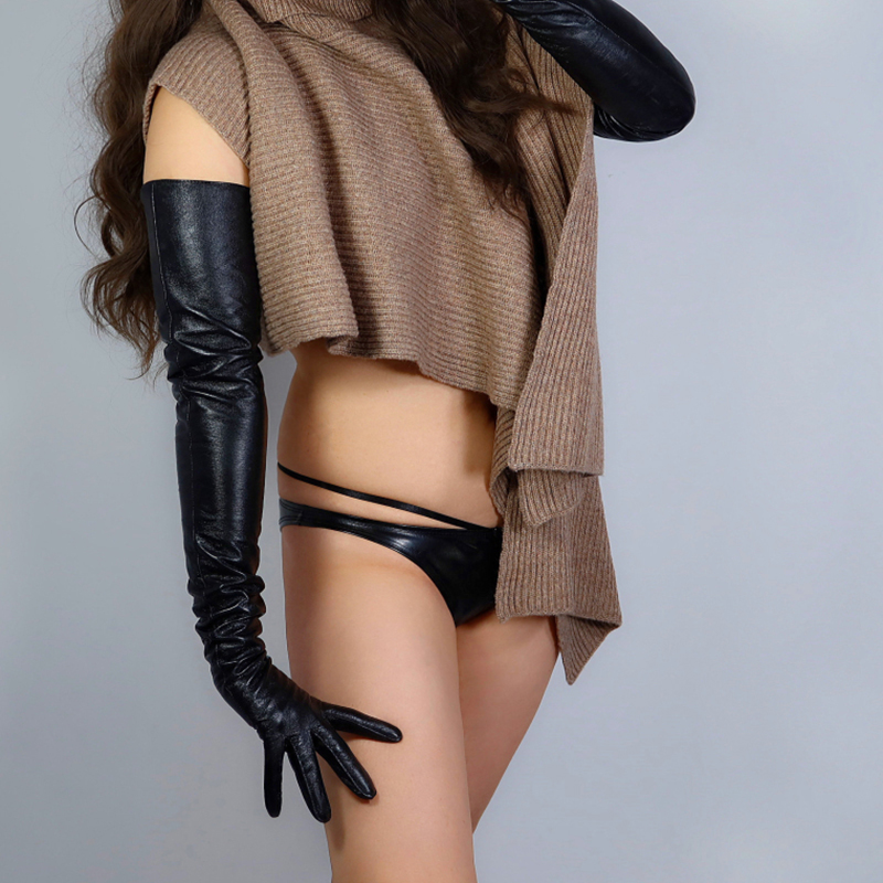 REAL LEATHER GLOVES 28