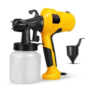 220V 400W spray gun with compressor spray gun airless sprayer household paint sprayer electric spray gun easy to spray car woode