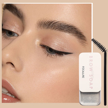Eyebrow-Gel Cosmetics Styling-Soap Long-Lasting Wild Waterproof Women's FOCALLURE 3D