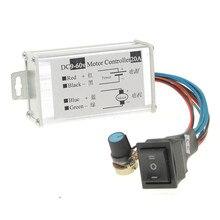 DC 9V 12V 24V 48V 60V 20A Motor Speed Controller Regulator Driver PWM speed controller Forward and reverse 0~100% adjustable