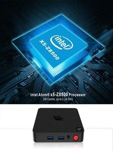 Image 5 - Beelink T4 Mini PC TV Box Intel Atom x5 Z8500 Windows 10 New Desktop PC 4GB+64GB 2.4/5.8GHz WiFi BT4.0 HDMI+DP Dual Display