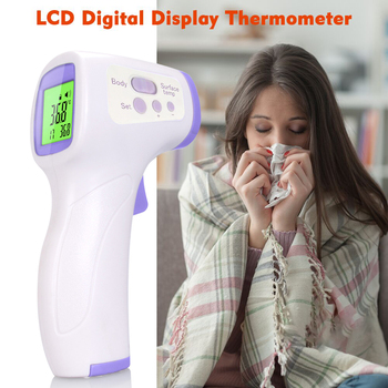Infrared Forehead Non-contact Digital Thermometer Temperature Measurement for Kids Children and Adults