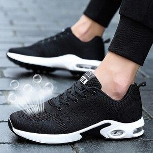 Image 1 - Tenis Masculino Hot Merk Sneakers Mannen Tennisschoenen Mannelijke Stabiliteit Lace Up Athletic Trainers Luchtkussen Outdoor Gym Sport schoenen