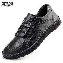 ชายรองเท้าหนังผู้ชายหรูหรายี่ห้อ Design Handmade Loafers ผู้ชายรองเท้าหนังแท้รองเท้าหนังแท้คัทชูรองเท้าผ้าใบ Oxford