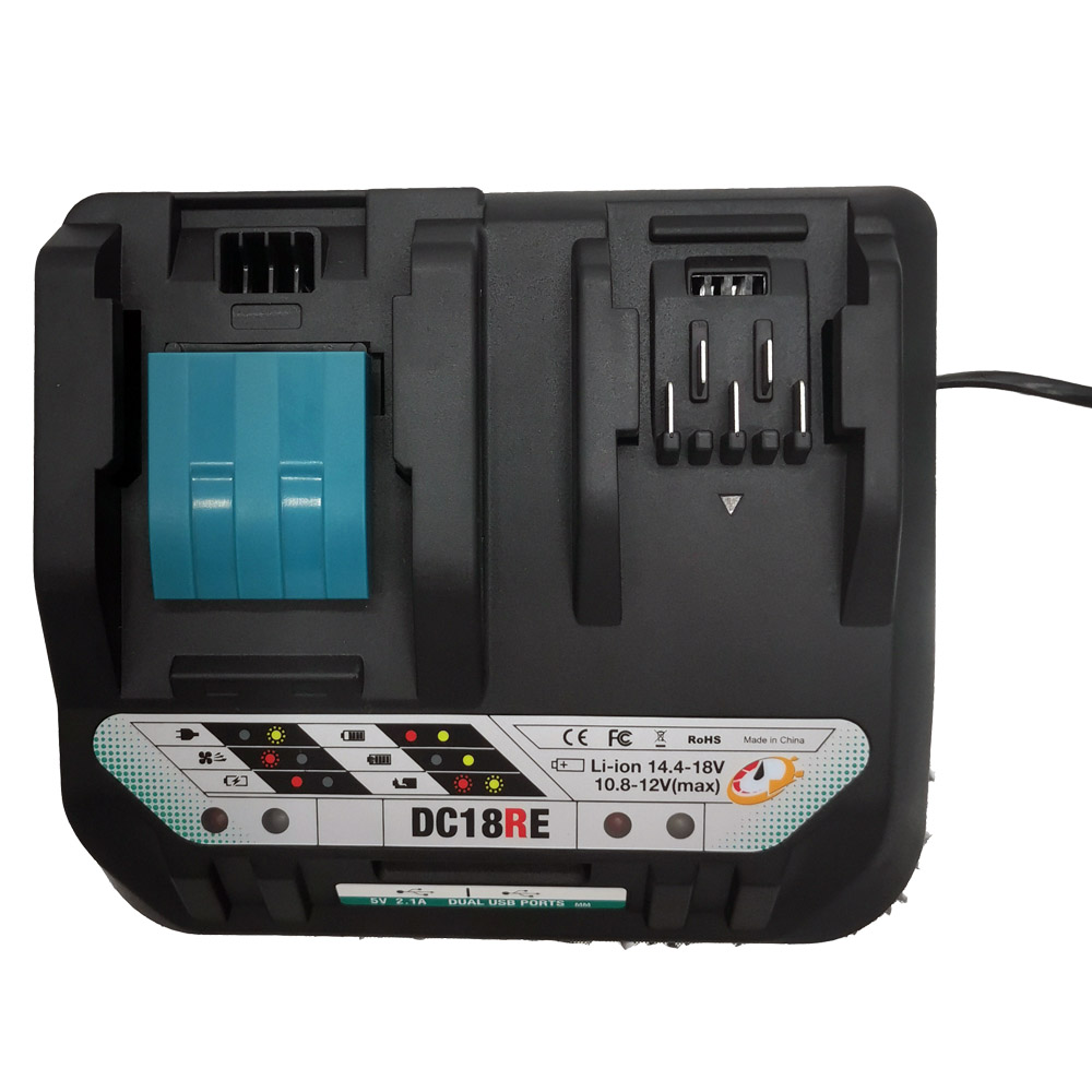 For DC18RE <font><b>MAKITA</b></font> <font><b>12V</b></font> Li-Ion <font><b>Battery</b></font> <font><b>Charger</b></font> For BL106 BL02 BL104 BL03 Power Tool DC18RC Charge image
