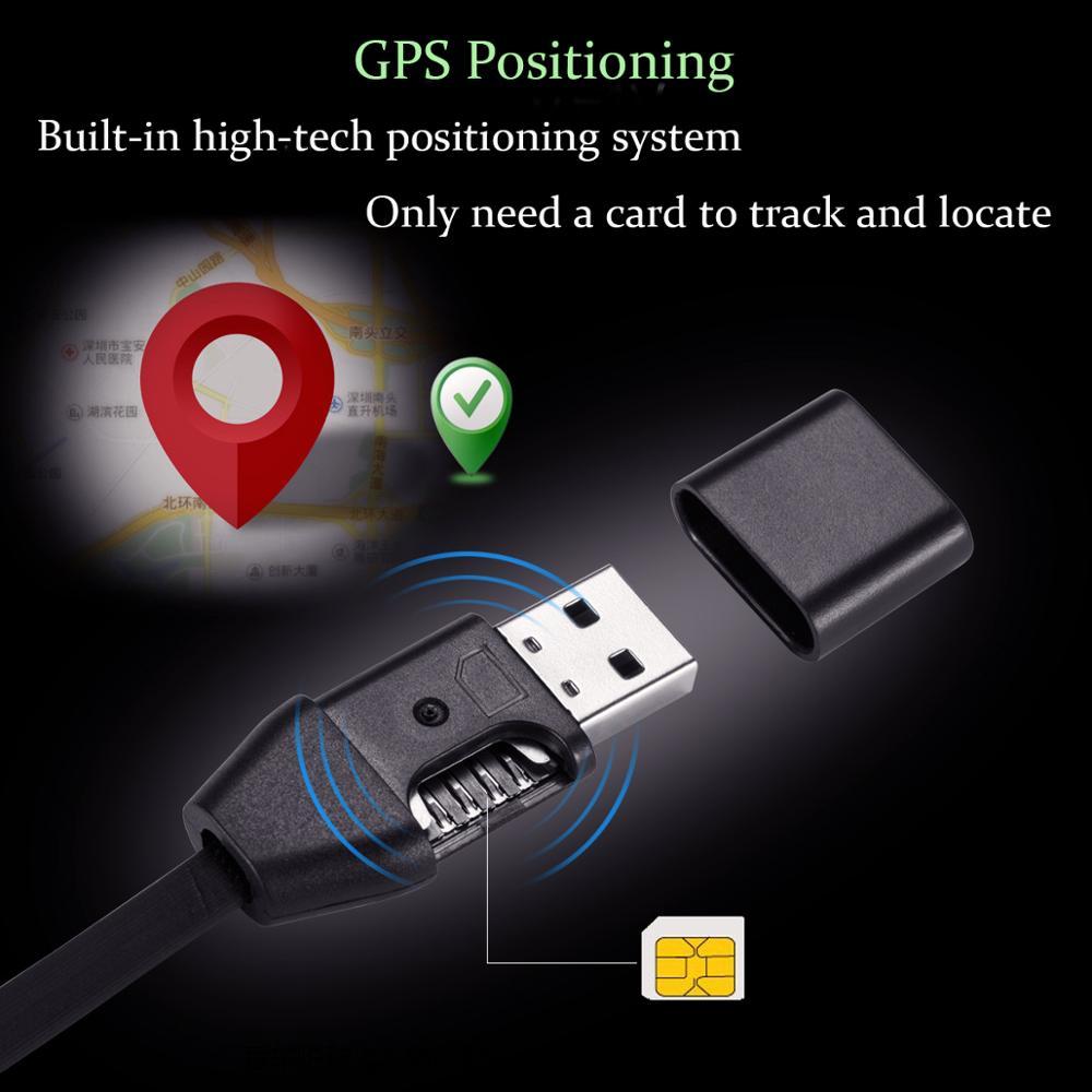 3 в 1 GIM ответный монитор usb зарядный кабель передачи данных gps-локатор позиционный Соединительный шнур совместим с sim-картой