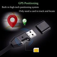 3 in 1 GIM Answer Monitor USB Charging Data Transfer Cable GPS Locator GPS Position Line Tracking Cord Compatible with SIM Card Anti-Lost Alarm     -