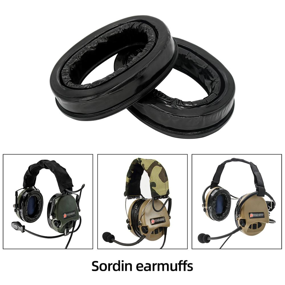 Silicone Ear Cups For MSA Sordin Headsets,Comfort Replacement Ear Sealing Headphone Accessories