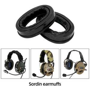 Ear-Cups MSA for Sordin Headsets Comfort Replacement Sealing Headphone-Accessories Silicone