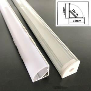 Aluminum-Profile Light-Strip 7020 Long 45-Degree-Angle LED for 12-Mm Wide-5050/5630/7020/..