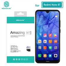 Redmi Note 8T Glass Nillkin Amazing H+Pro 0.2MM 2.5D Screen Protector Tempered Glass for Xiaomi Redmi Note 8T Note8T