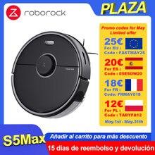 Roborock – aspirateur S5 Max, nouvelle Version améliorée, Robot aspirateur, nettoyage d'intérieur, commande via application Mijia