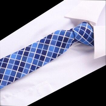 Luxury Cotton 6cm Men's Colourful Tie Necktie  Slim Skinny Woven Cravate Narrow Neckties Wedding Party Formal Accessries fashion men s colourful tie luxury necktie solid color narrow 6 cm slim skinny woven narrow neckties men s tie gift