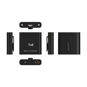 Image 4 - DISOUR TX8 5,0 Bluetooth Empfänger Sender Mit Volumen Control Taste 2 in 1 Audio Wireless Adapter 3,5 MM AUX Für auto TV PC