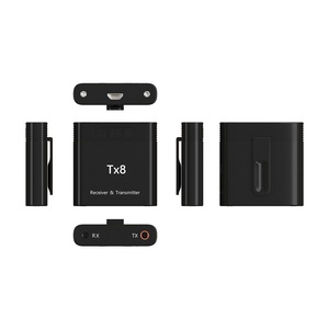 Image 4 - DISOUR TX8 5.0 Bluetooth Receiver Transmitter With Volume Control Button 2 in 1 Audio Wireless Adapter 3.5MM AUX For Car TV PC