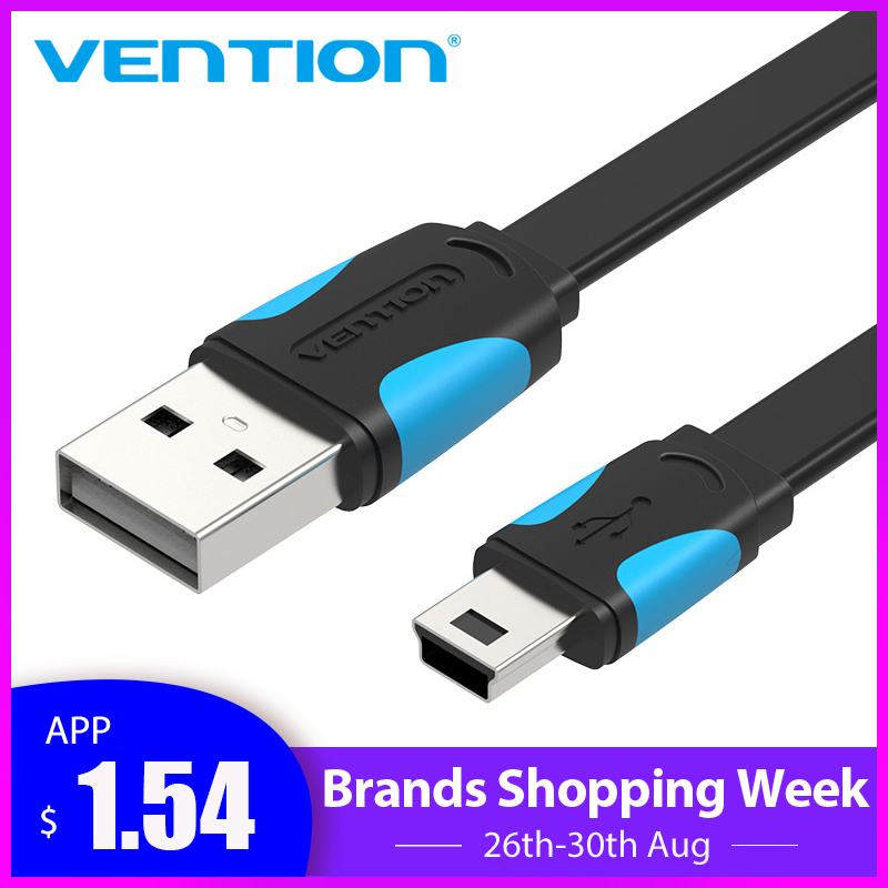 Vention Usb-Cable Mp4-Player Digital-Camera Fast-Charging Mini-Usb To for Cellular Phone