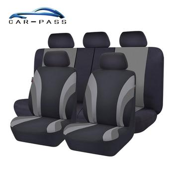 Car-pass Automobiles Seat Covers Full Car Seat Cover Universal Fit Interior Accessories Protector Car-Styling 4pcs car seat covers universal most brand vehicle seats car seat protector interior accessories seat cover