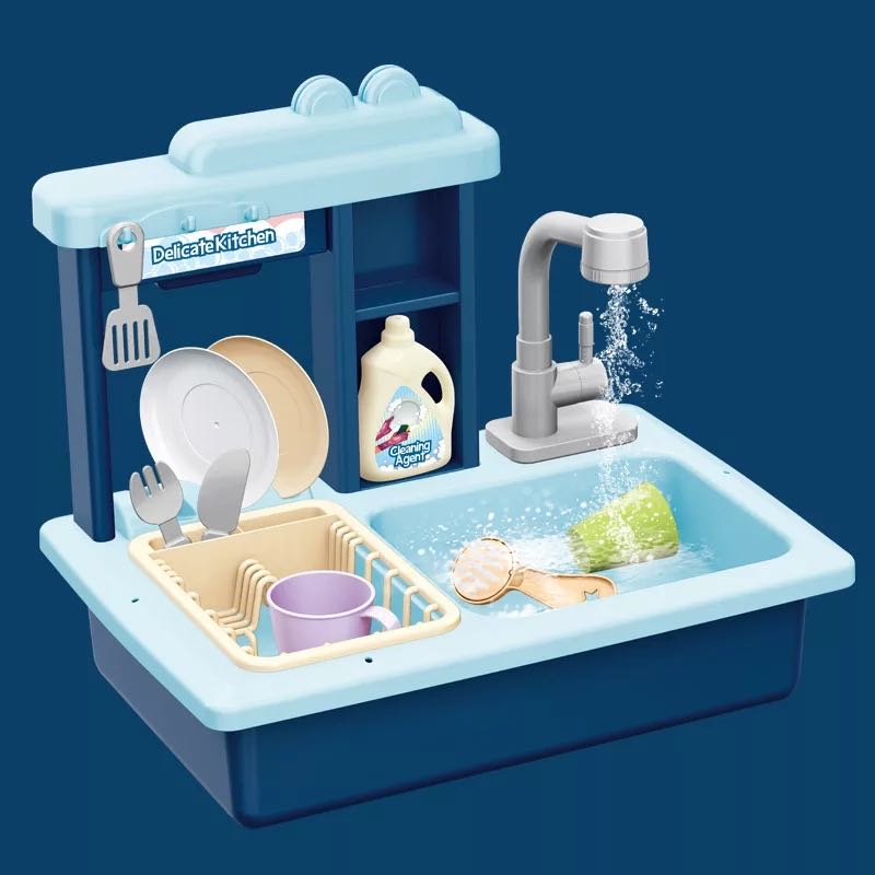 lavar louça elétrica fingir jogar cozinha brinquedos
