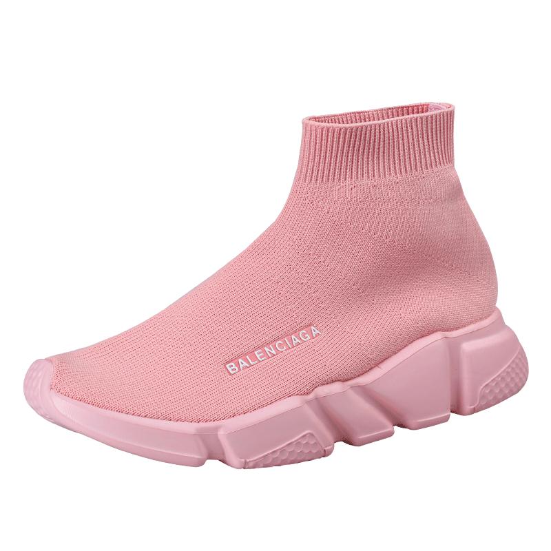 BALENC Big Size 45 Couple Shoes Men Brand Sock Shoes Man Stretch Slip On Sneakers Running Masculino Adulto Unisex Socks Krasovki