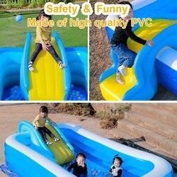Aufblasbare Wasser Rutschen Für Kinder Hinterhof Sommer Im Freien Kinder Spaß Garten Rasen Schwimmen Pool Und Prahler Wasser Party Rutschen