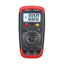 UYIGAO Multimeters UA6013L Digital LCD Multimeter Auto Range Digital Capacitor Capacitance Multimeter tester victor vc890c digital multimeter true multimeter capacitor temperature measurement multimeter digital professional