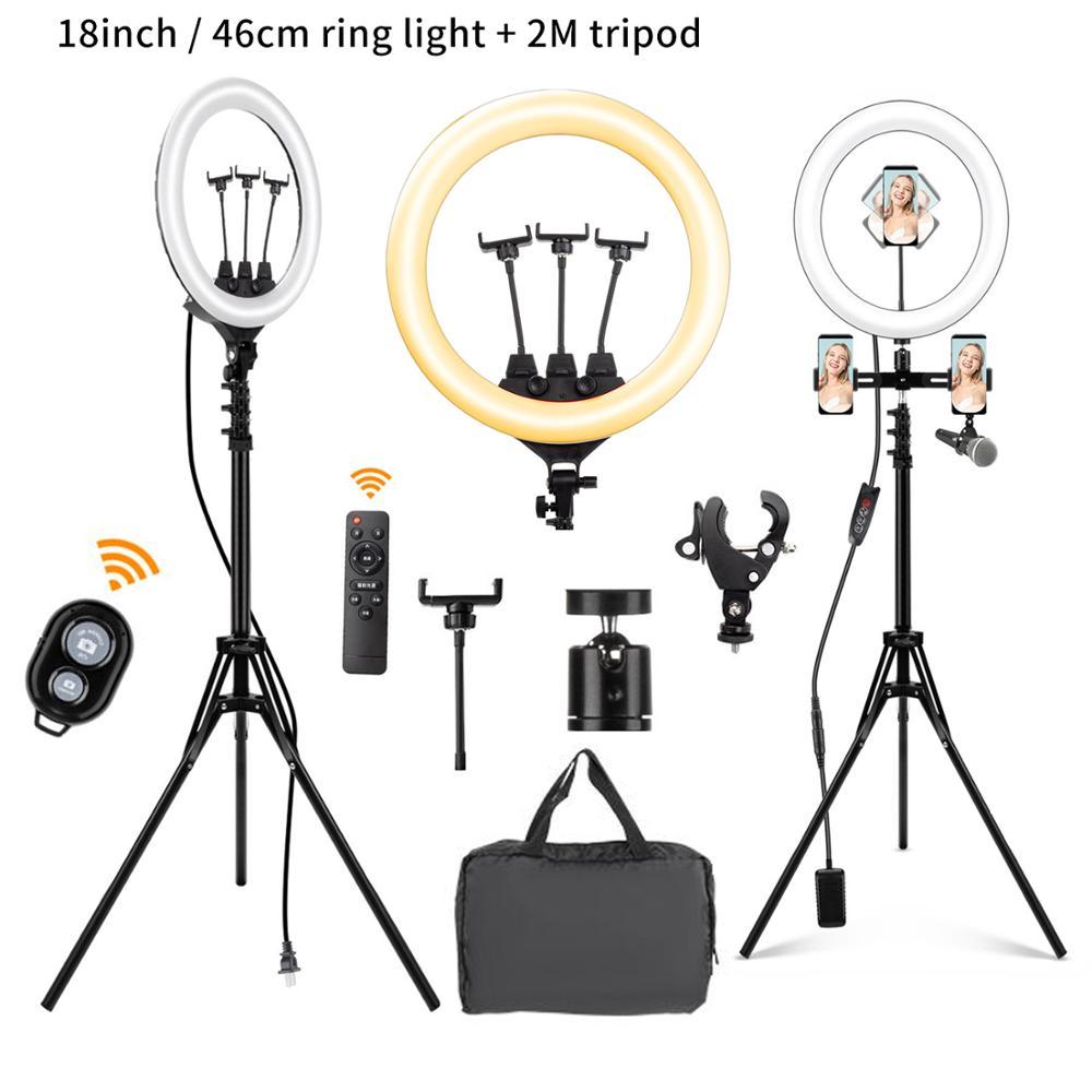 Светодиодный светильник для фотосъемки 10