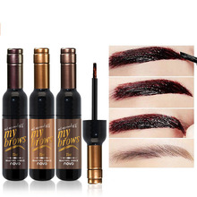 ZHENDUO red wine tearing eyebrow dye Long-lasting waterproof  sweat-proof gel paint for makeup Cream