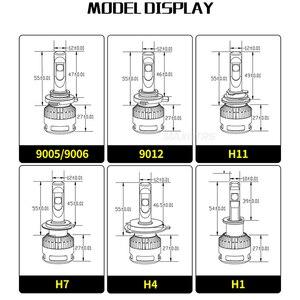 Image 4 - 2x110W XHP70 רכב LED פנסי H4 H7 H8/H11 HB3/9005 HB4/9006 אוטומטי מול הנורה רכב פנס ערפל אורות 6000K תאורה