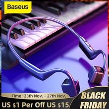 Baseus BC10 Conduction osseuse Bluetooth écouteur sans fil IPX5 étanche Bluetooth 5.0 casque ultra léger Hifi casque écouteurs
