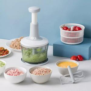 Image 4 - Youpin Jordan & Judy multi fonction manuel légumes fruits Cutter pomme de terre carotte hachoir outils de cuisine Gadget trancheuse alimentaire broyeur