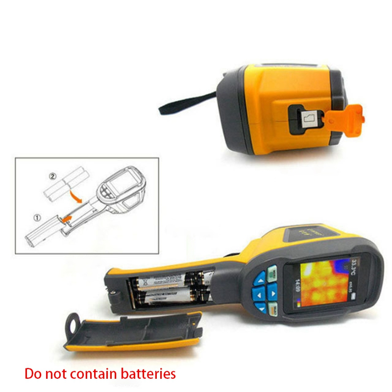 1024 Pixels Infrared Thermometer Handheld Thermal Imaging Camera With 2.4 Inch TFT Color Display Infrared Imaging Device