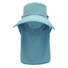 Outfly brand 2020 new summer sun visor hat removable mask and
