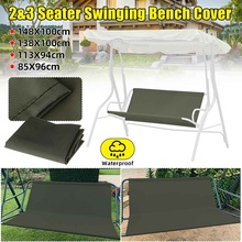 Case Chair-Cushion Swing-Cover Bench-Replacement Outdoor Waterproof Patio Garden Backrest