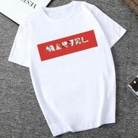 Marvel White T-shirts For Men (20 Designs) 5