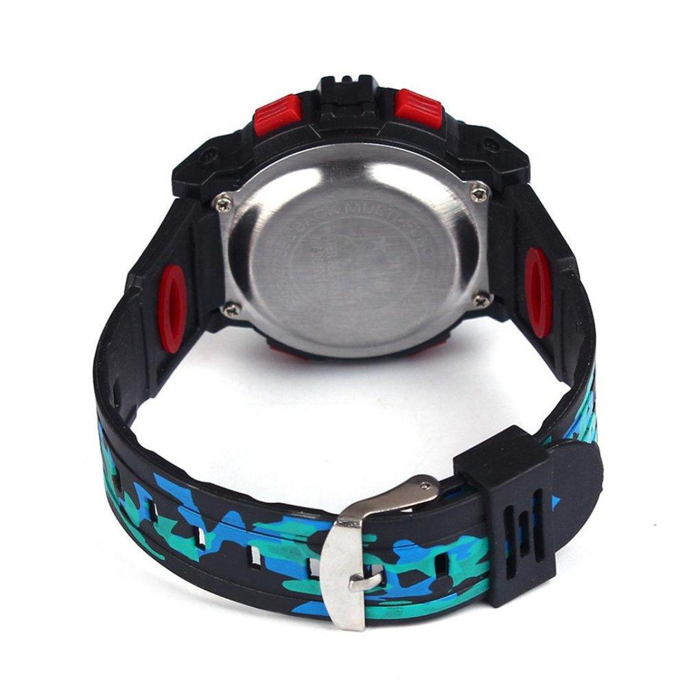 Новинка дети ребенок цифровые часы мальчик девочка открытый многофункциональный водонепроницаемый 24,6 см спорт электроника наручные часы часы +Reloj