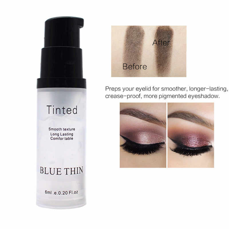 Eye Shadow Primer Make Up Dasar Alami Profesional Kosmetik Eyeshadow Makeup Krim Tahan Lama Palet Tahan Air TSLM1